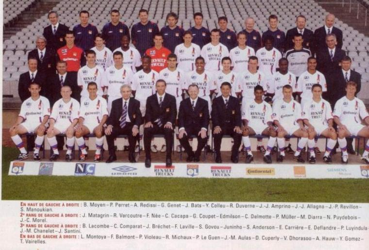 Maillot OL 2003-2004