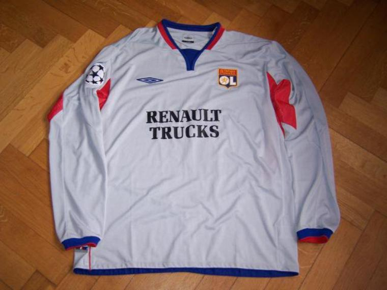 Maillot OL 2004-2005 europe