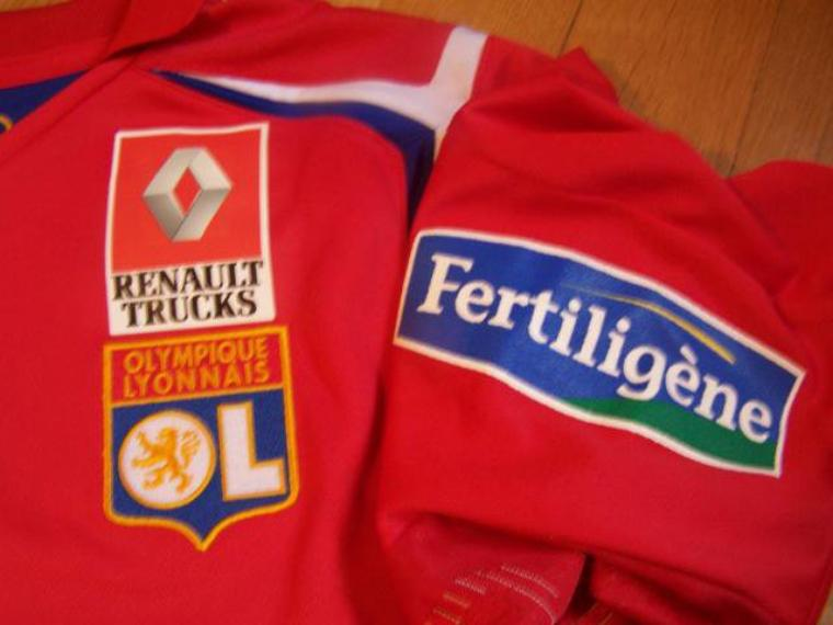 Maillot OL 2005-2006 extérieur