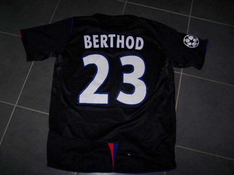 Maillot OL 2005-2006 europe