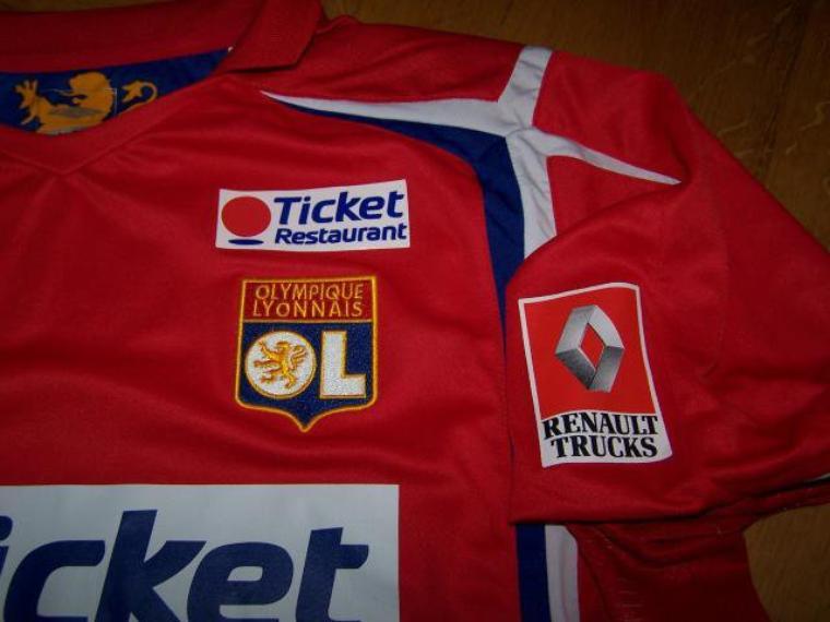 Maillot OL 2006-2007 extérieur