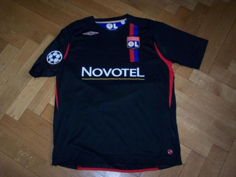 Maillot OL 2007-2008 europe