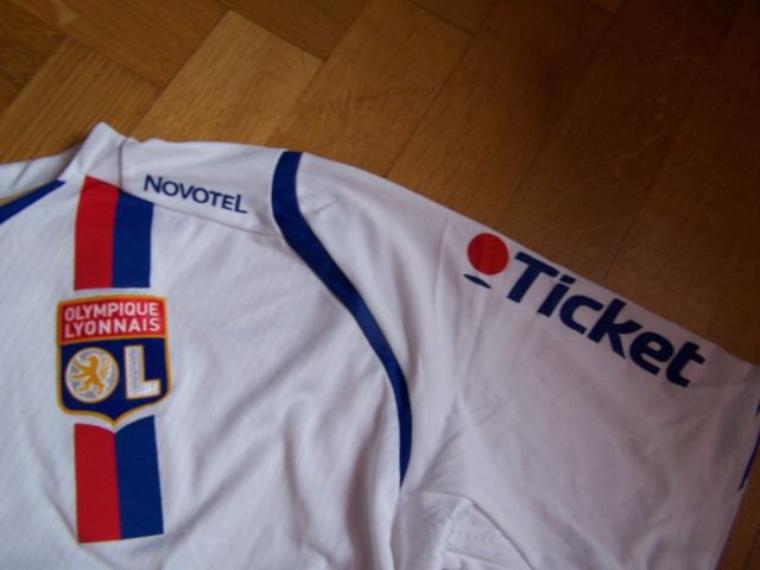 Maillot OL 2008-2009 domicile