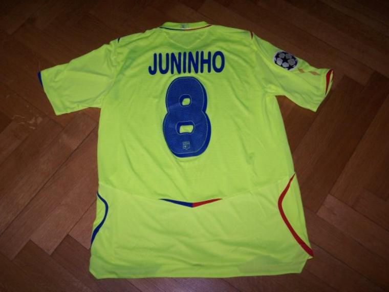 Maillot OL 2008-2009 Europe
