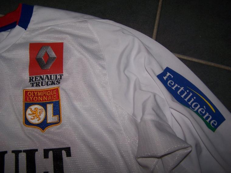 Maillot OL 2004-2005