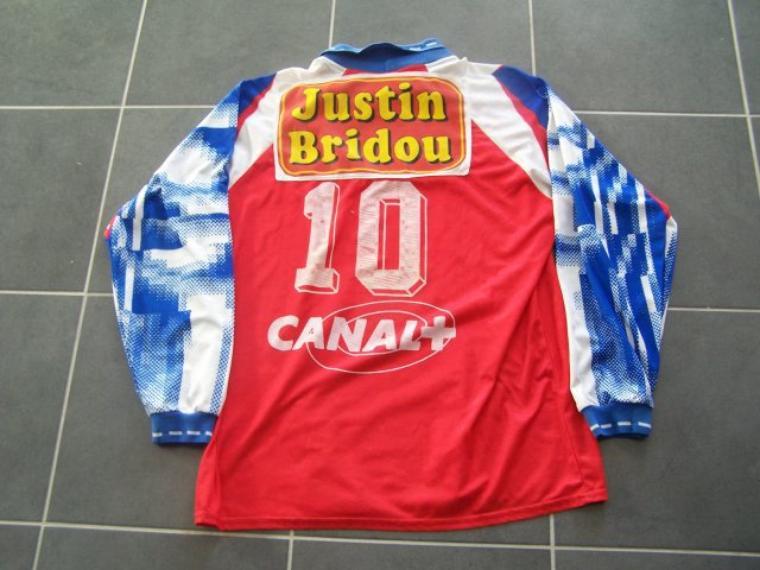 Maillot OL 1993-1994 extérieur