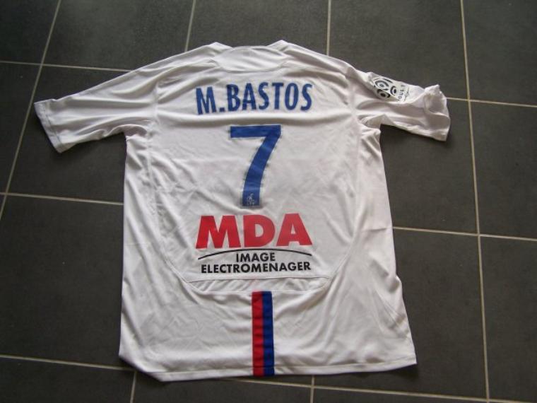 Maillot OL 2009-2010 Domicile