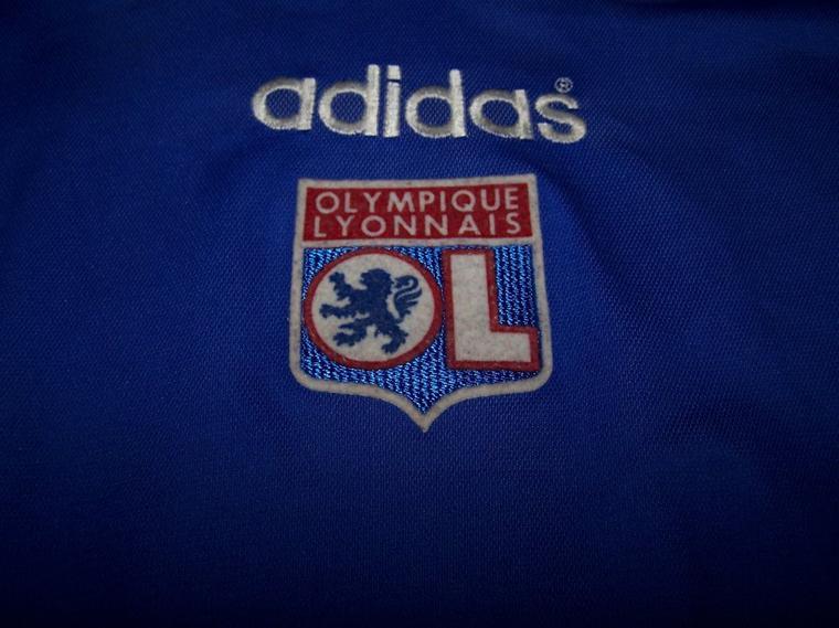 Maillot OL 1996-1997 extérieur bleu