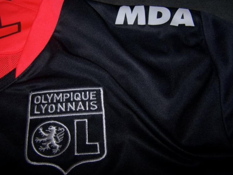 Maillot OL 2009-2010 extérieur