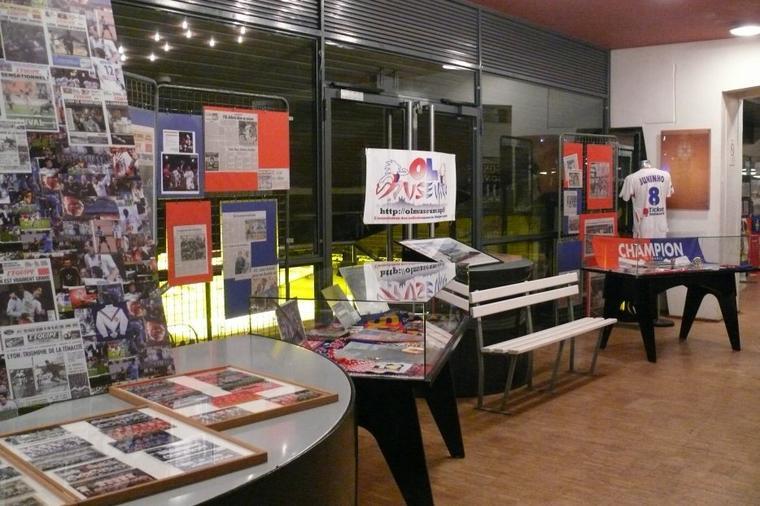 exposition 60 ans de l'Olympique Lyonnais