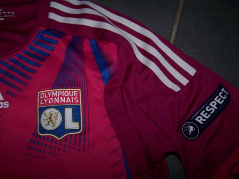 Maillot OL 2011-2012 Europe