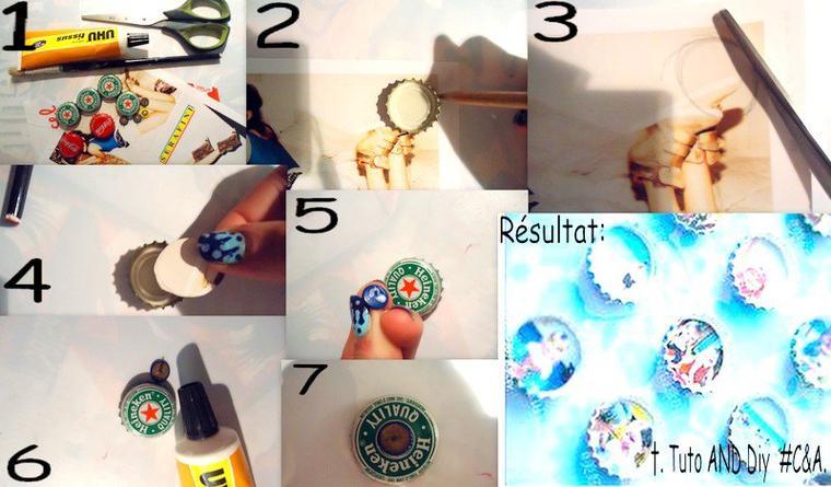 #DIY 7; Punaises en capsule de boisson.