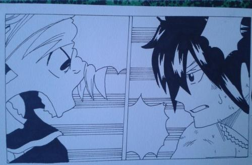 Mes dessins de Fairy tail !