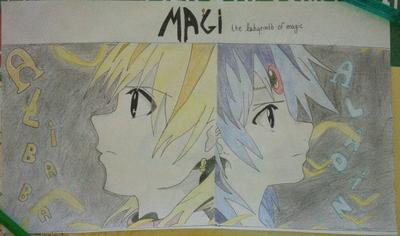 Magi : Draw