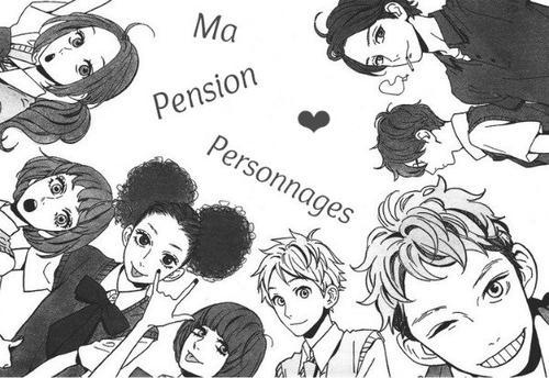 ❣ Personnages & Pokémon ❣