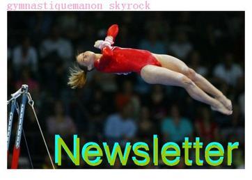 Newsletter + présentation du blog.