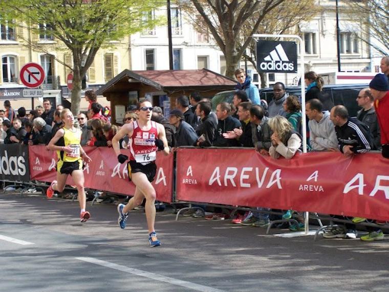 Championnats de France FFA de 10 km 2012 - Retour à la compétition probant...
