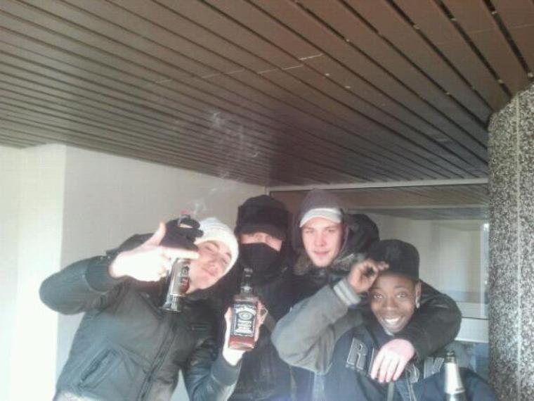 Aiiiii  la sortie du poto !! 11.02.2012
