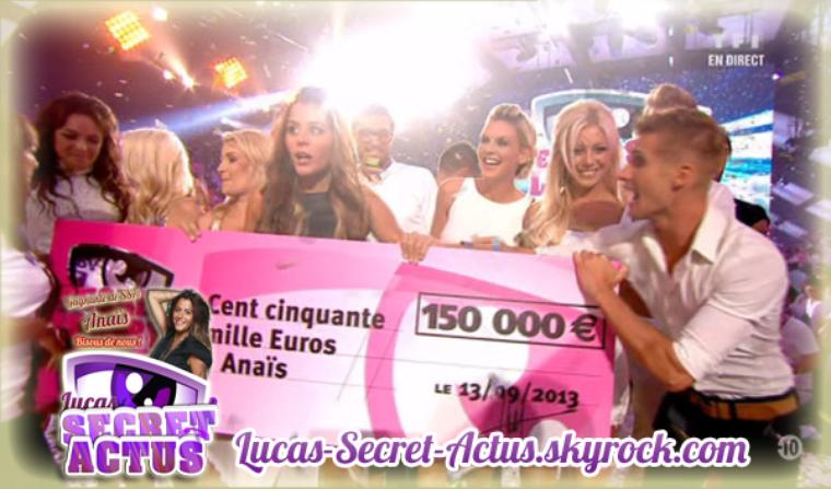 Et la gagnante de Secret Story saison 7 est ...Anais !