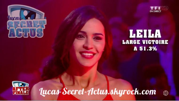 #Finale: Leila grande gagnante de Secret Story saison 8 !