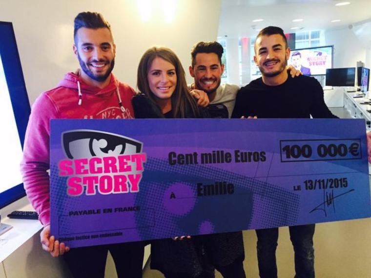 #OFFICIEL: Emilie gagnante de Secret Story saison 9