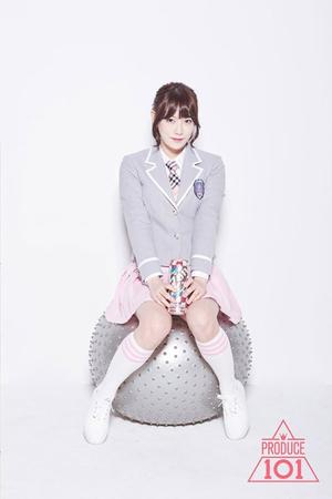 Photoshoot PRODUCE 101 #5(Rena)