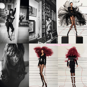 - • Rihanna pose pour le magazine « Vogue Paris » Décembre 2017 et Janvier 2018 ! -
