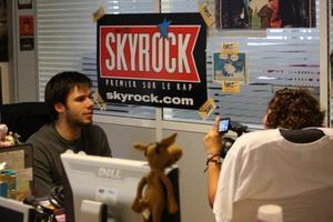 Orelsan à Skyrock pour kwest !
