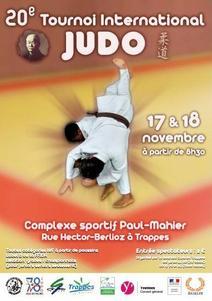 TOURNOI INTERNATIONAL DE JUDO  CADET    LE  17 - 11 - 2012