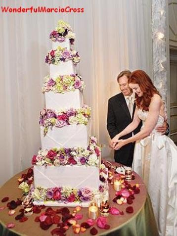 Mariage de Marcia Cross & Tom Mahoney le 24 juin 2006