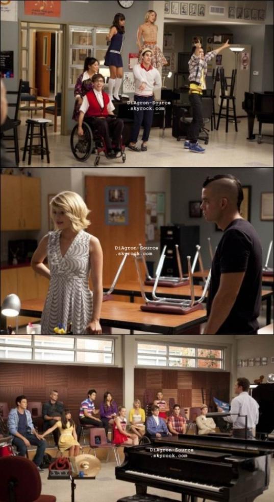 """Episode 3x04 de Glee """" Pot O' Gold """""""