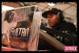 Sultan au micro de Skyrock dans Planète Rap avec Fred