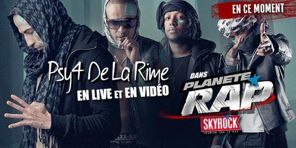 Les Psy 4 de la Rime sont sur @SkyrockFm dans @Planete_Rap toute cette semaine