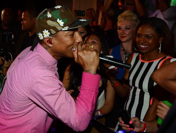 Pharrell - Club PURE - Las Vegas - 25 mai 2013