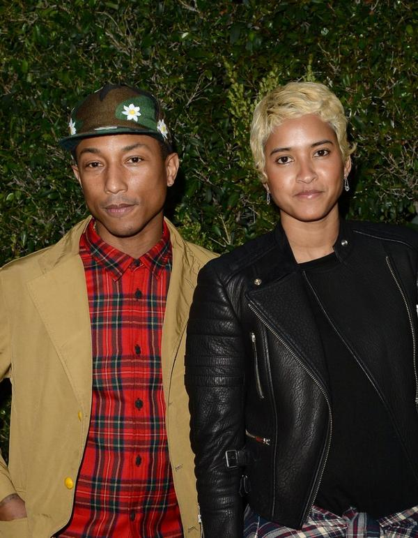 "Pharrell & Helen - Dîner Chanel & NRDC ""A Celebration of Art, Nature and Technology"" - Los Angeles - 31 mai 2013"