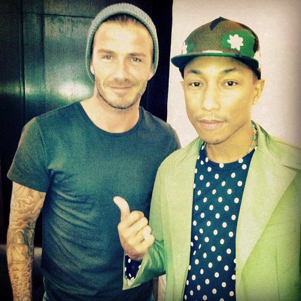 Pharrell & David Beckham - NYC - 3 juin 2013
