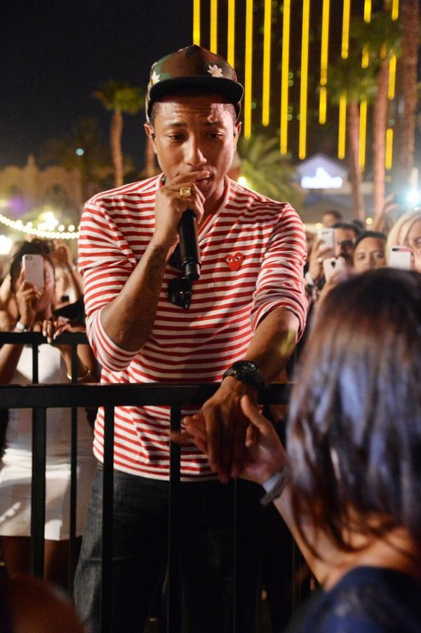 Pharrell -  Los Angeles - 29 Juin 2013