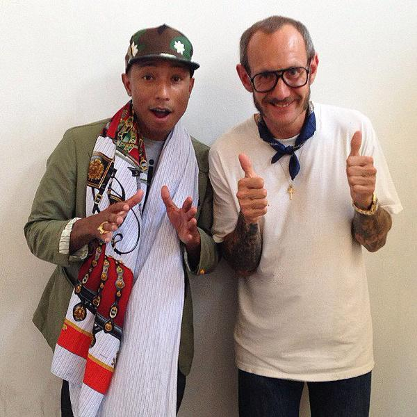 Pharrell & Terry Richardson