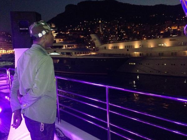 Pharrell - Monte Carlo - Juillet 2013