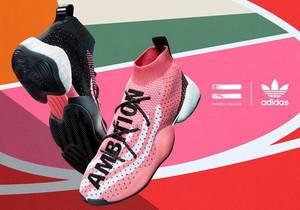 Adidas originals = Pharrell Crazy BYW LVL X