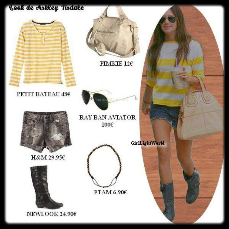 Look de star : Ashley Tisdale
