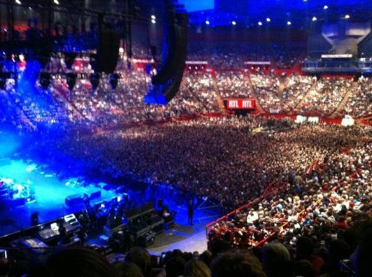 Au concert de Paul Mc Cartney a bercy: