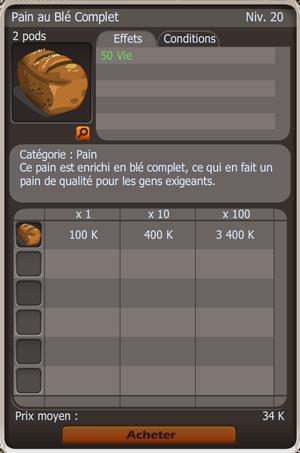 Paysan - Boulanger - 1M de kamas par jour: Explications.