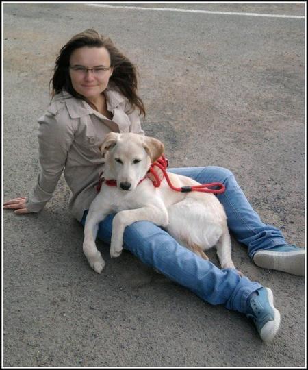 Elle et moi, pour le tour de France 2011 qui passait près de Dinan :)