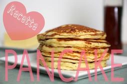 Recette de pancakes. (Adieu.)