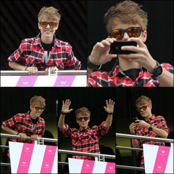 Justin au Brésil