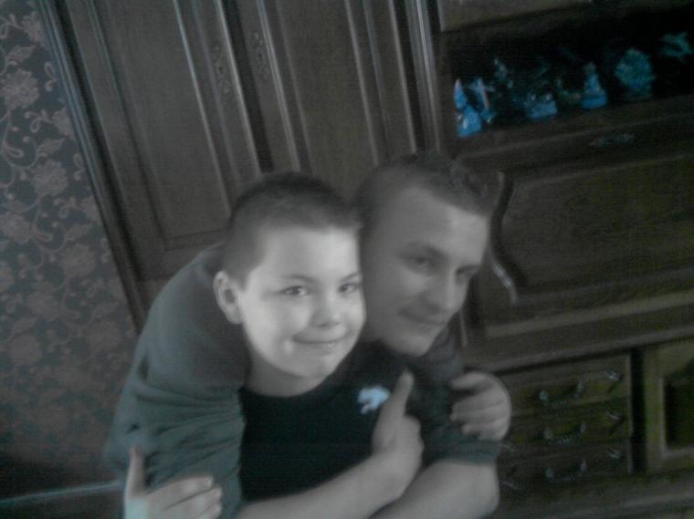 mon petit et mon grand frere