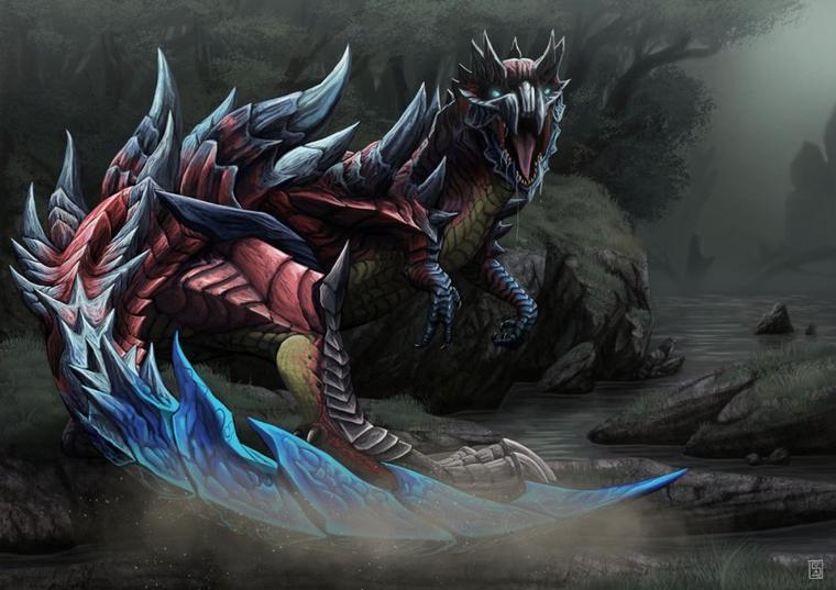 Les personnalités sur Internet (Version Monster Hunter)