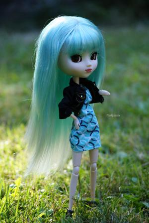 Harley et sa nouvelle wig ^o^