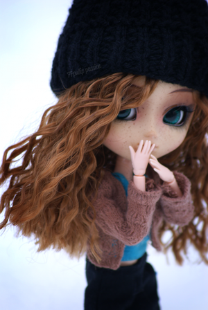 In the snow ~ • ° . ' ; •